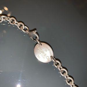 Tiffany & Co Silver Chain Necklace